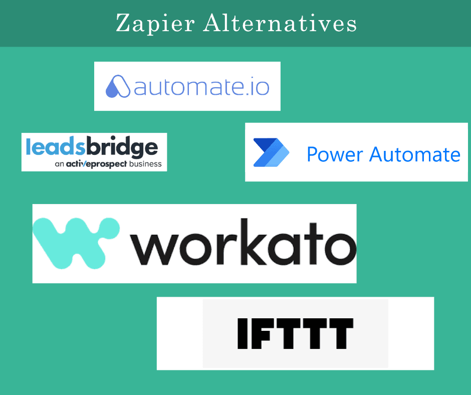 Zapier Alternatives : Top 5 Free and Paid Tools in 2021.